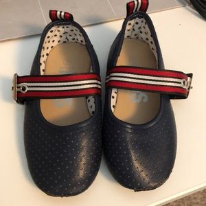 Navy toddler dress shoes
